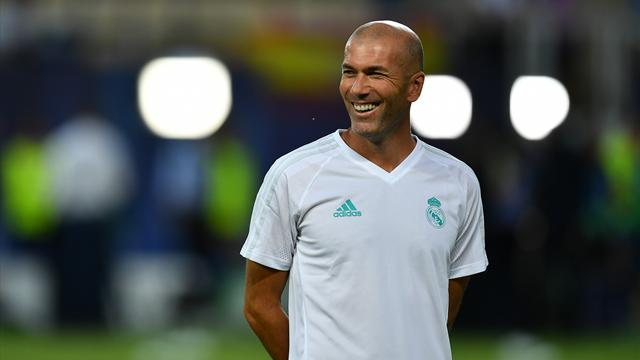 Zinedine Zidane happy to sign new Real Madrid contract