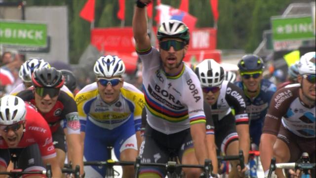 Sagan doubles his lot with another victory at BinckBank