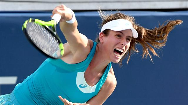 Konta suffers shock defeat in Rogers Cup second round