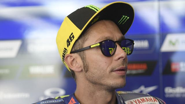 Rossi blames tyres for 'difficult' start slot
