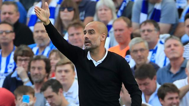 Manchester City boss Pep Guardiola doesn't want to play favourites