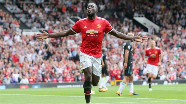 Romelu Lukaku scores as Manchester United defeat West Ham at Old Trafford