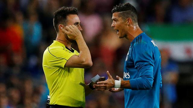 Ronaldo banned for 5 games after pushing referee