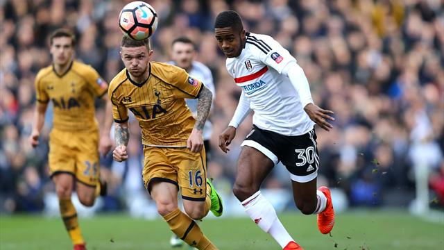 Tottenham Hotspur have £25m bid for Fulham prodigy Ryan Sessegnon rejected