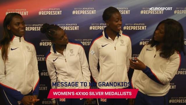 Women's 4x100m relay silver medallists: A message for my future grandkids