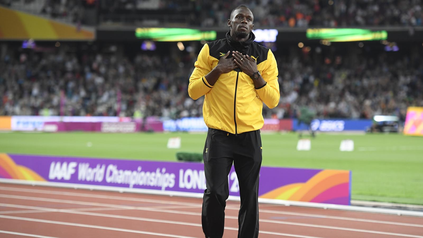 Usain Bolt hits back at people who questioned World Championships injury