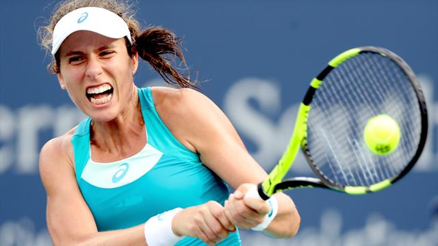 Muguruza thumps Halep in straight sets in Cincinnati final