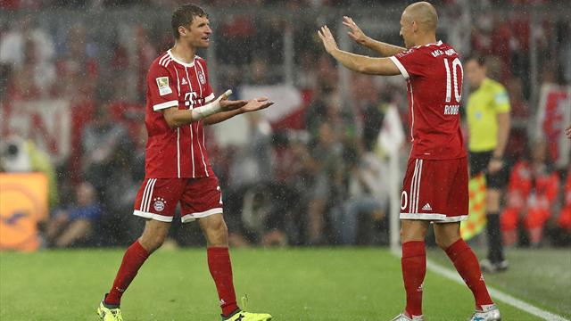Bayern's Muller vents frustration over substitute role