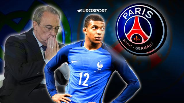 Euro Papers: Real rage as Mbappe picks PSG