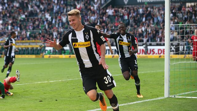 Elvedi gives Gladbach season-opening win in Rhine derby