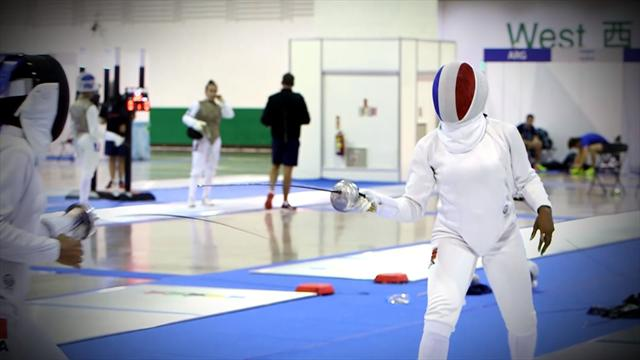 FISU - Athlete Story: Laurence Epee aiming to retain her title