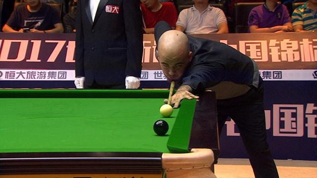 Brecel finishes off in style to extend final lead