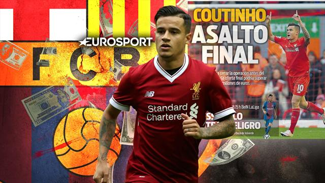 Euro Papers: Barcelona offer Liverpool star in final £139m push for Coutinho