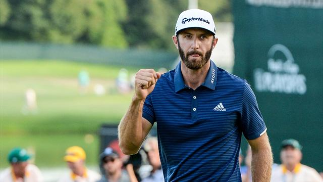 What Dustin Johnson said after winning The Northern Trust
