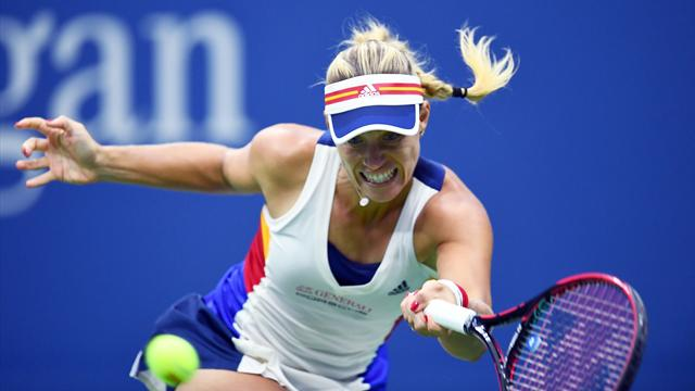 US Open: Kerber n'y arrive plus