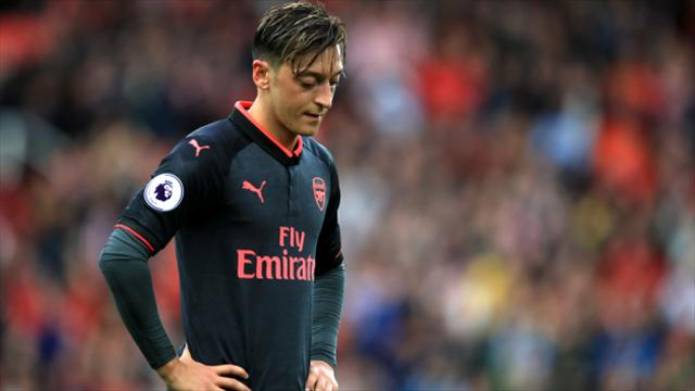 Mesut Ozil launches furious blast at Arsenal critics and ex-players