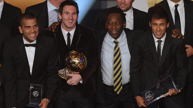 Pele: Neymar right to step out of Messi's shadow
