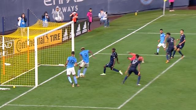 New York City FC s'en sort d'un rien contre Kansas City