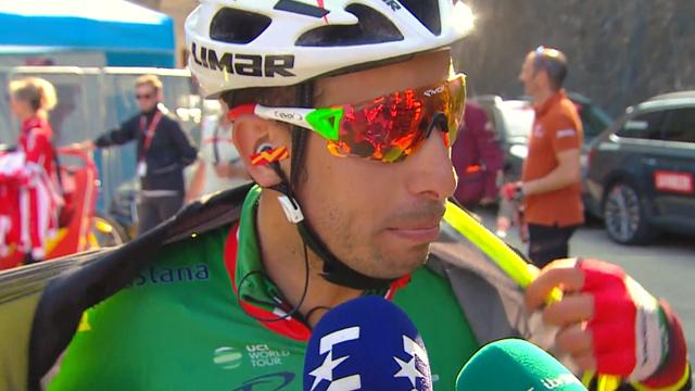 Vuelta Xtra: Fabio Aru talks to Eurosport about his terrific breakaway effort