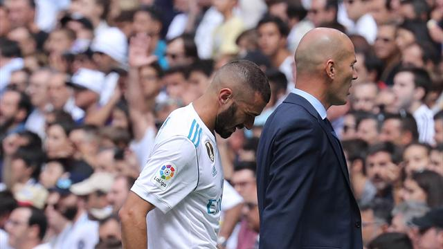 Blow for Real Madrid as Benzema faces at least one month on sidelines