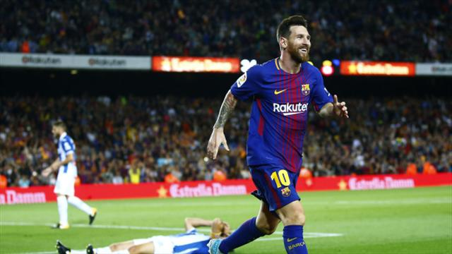 Lionel Messi hat-trick fires Barcelona to emphatic victory over Espanyol