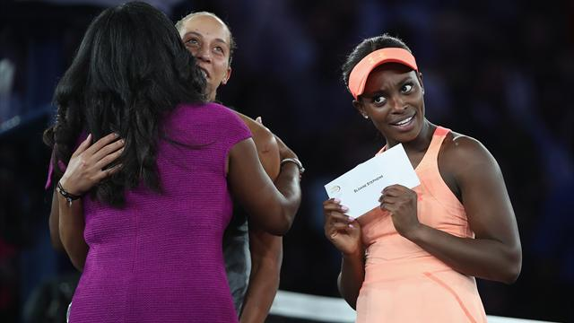 "Stephens shocked by size of winner's cheque: ""That's a lot of money"""
