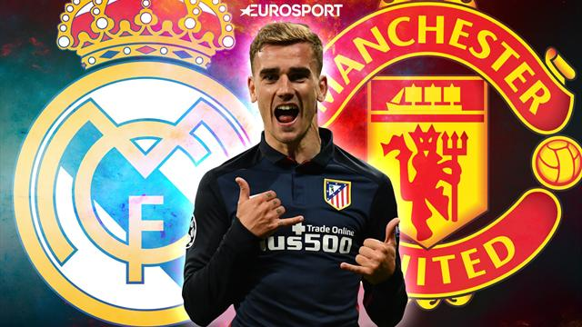 Euro Papers: United face Real competition for Griezmann