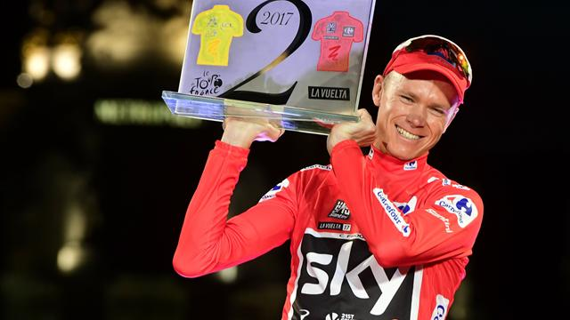 Froome clinches historic Vuelta title as Trentin wins final stage