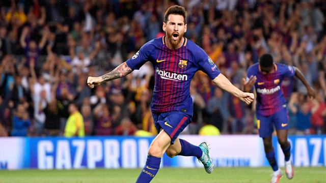 Messi magic leads Barca to Juve win