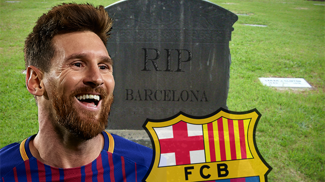 Ready to write off Barcelona? Don't be stupid – they have Lionel Messi