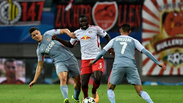 Round-up: RB Leipzig held at home by Monaco on European debut
