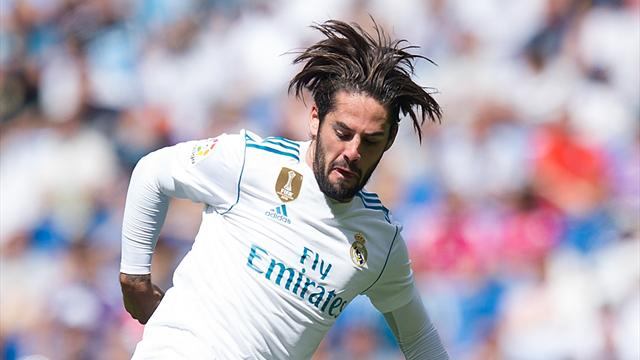Real Madrid extends Isco's contract until end of 2022 season