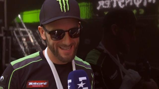 Tom Sykes admits he is 'a very lucky man' after horror crash