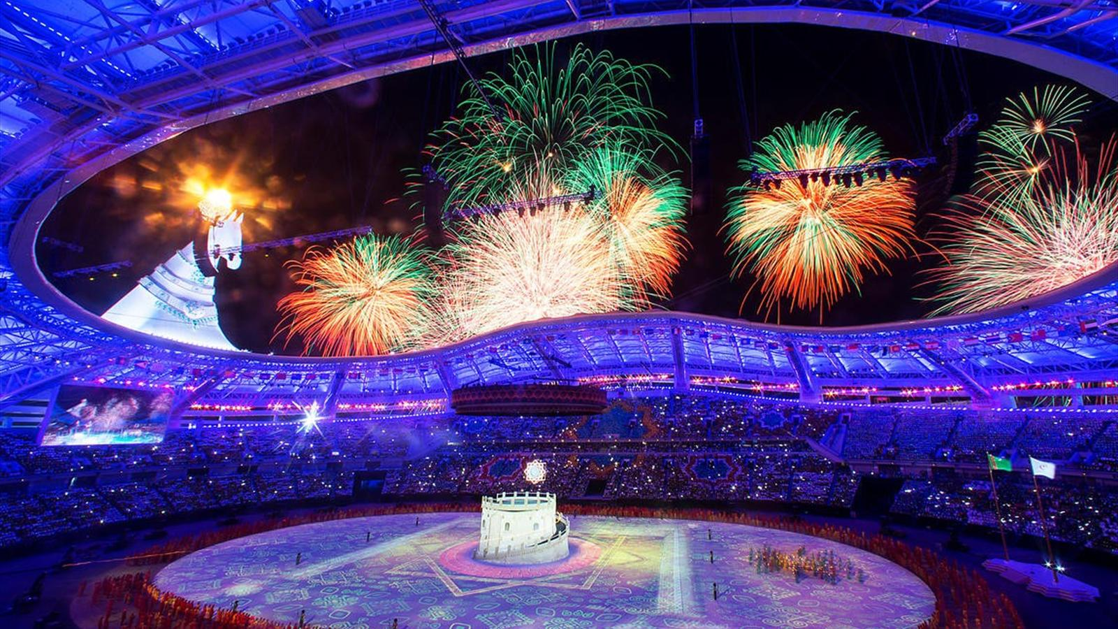 History made as Ashgabat 2017 gets under way with spectacular Opening Ceremony