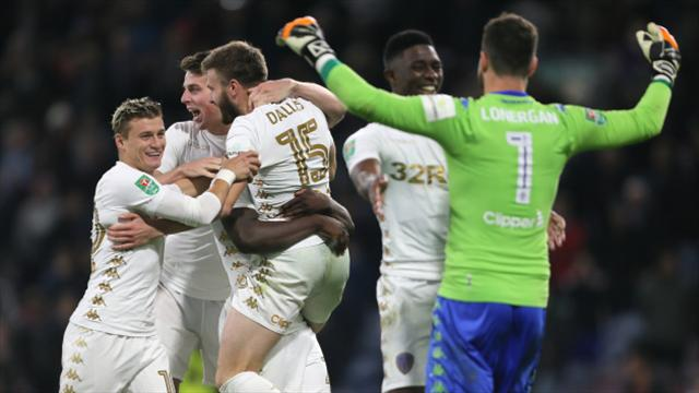 Leeds United draw Leicester City in the League Cup