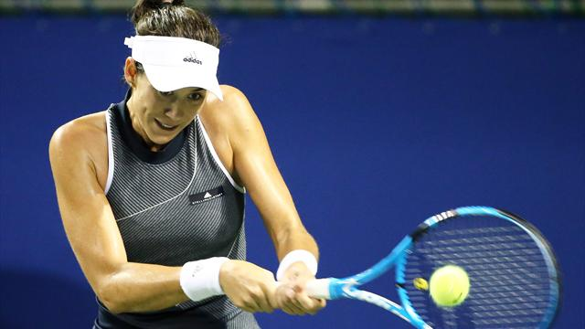 Garbine Muguruza, Angelique Kerber advance to Pan Pacific Open semifinals