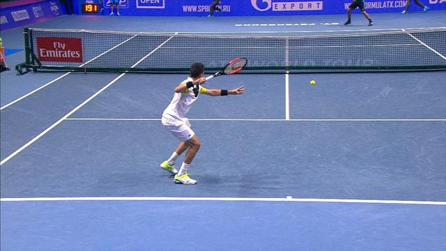 Highlights: Bautista Agut beats Troicki in straight sets to reach semi-finals