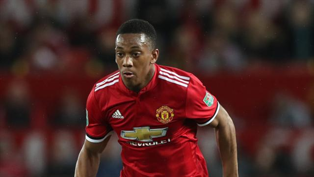 Mourinho sees 'great improvement' in Martial