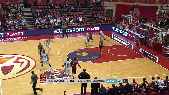 Highlights: Umana Reyer Venezia-Banco di Sardegna Sassari 86-79