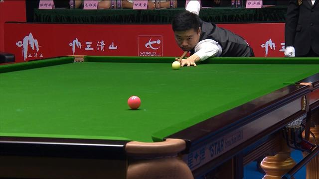 Wilson error lets Ding seal World Open crown