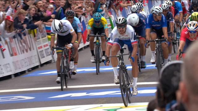 Sagan takes Road Race win after incredible photo finish