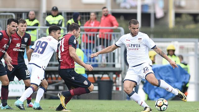 Crotone Tumminello out per la rottura del crociato