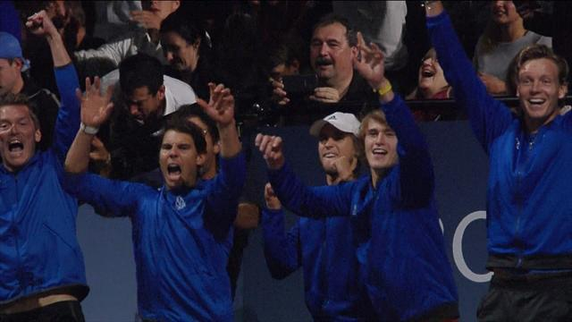 Captured: All the emotions of the Laver Cup