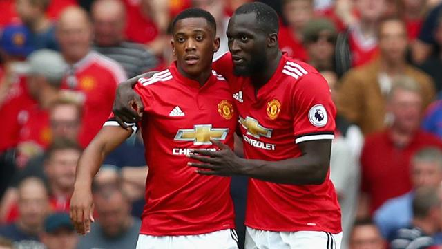 Martial partners Lukaku with Rashford on bench Hazard starts at Atletico