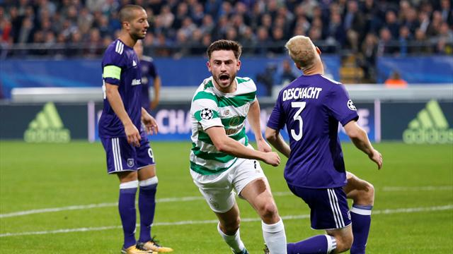 Celtic boost third place chances with big win over Anderlecht
