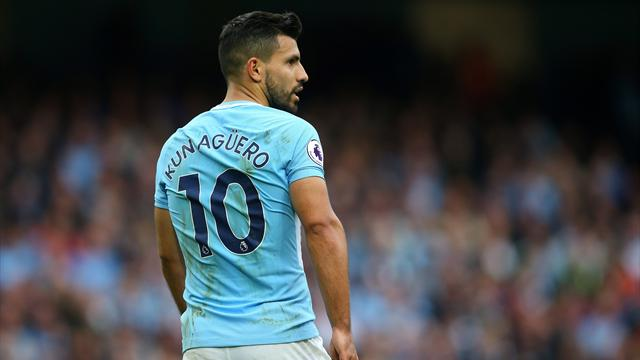 Man City striker Aguero reportedly injured in auto accident in Netherlands
