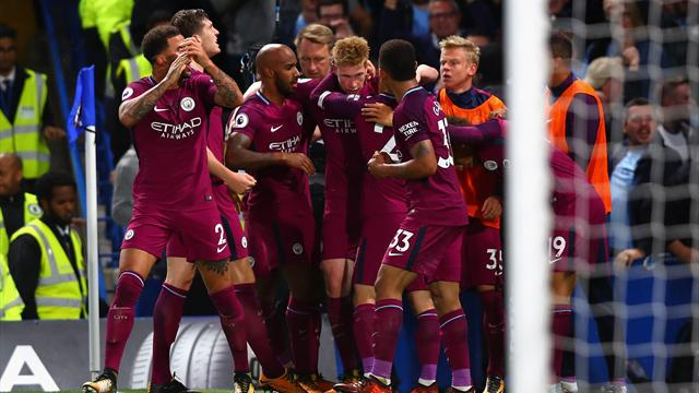 Premier League - Chelsea-Manchester City 0-1, decide De Bruyne