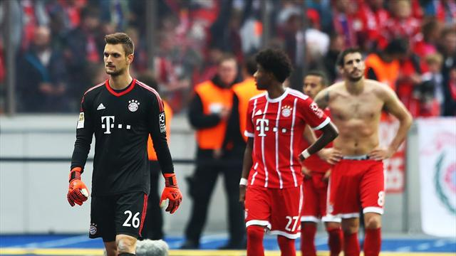 Bayern misery continues as Hertha fight back to draw
