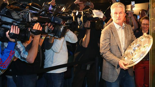 Bayern confirm Jupp Heynckes as manager until end of season