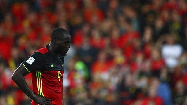 Injured Lukaku misses Belgium's trip to Bosnia